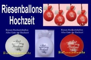 """Riesenluftballons """"Alles Gute Zur Hochzeit"""", riesige Ballons zur Hochzeitsdekoration"""