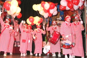 Ballons im Karneval. Karnevalsgesellschaft Alt-Köllen