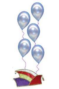 Narenkappen sind zwar bunt, doch was wären sie ohne Luftballons?