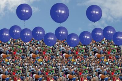Riesenballons: Riesige Luftballons
