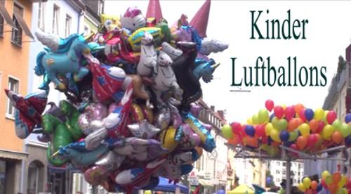 Kinderluftballons, Kinder lieben Luftballons