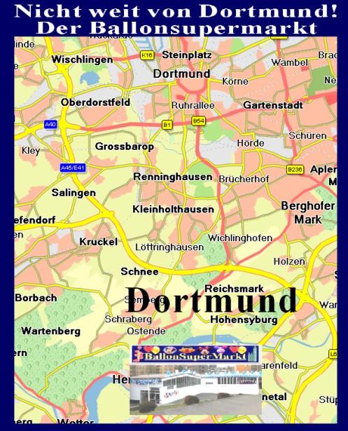 Nicht weit von Dortmund