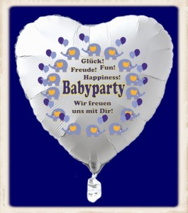 Baby party geburt und taufe luftballons und dekoration for Dekoration babyparty