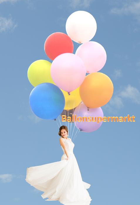 Große Ballons Hochzeit