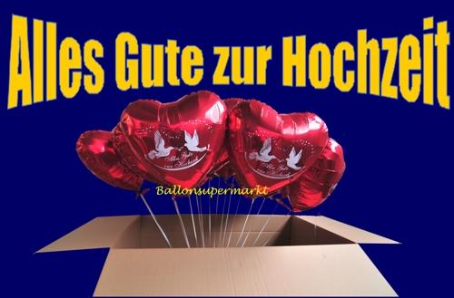 .de - Alles Gute Zur Hochzeit - Luftballons: Folienballons Hochzeit ...