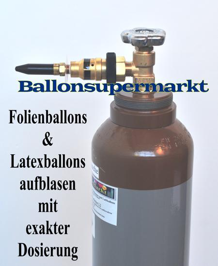 Ballongas auff llventil f r luftballons und folienballons for Folie zum bekleben von schranken