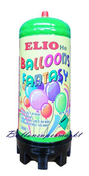 Einweg Ballongas Helium Flasche 1.8 Liter