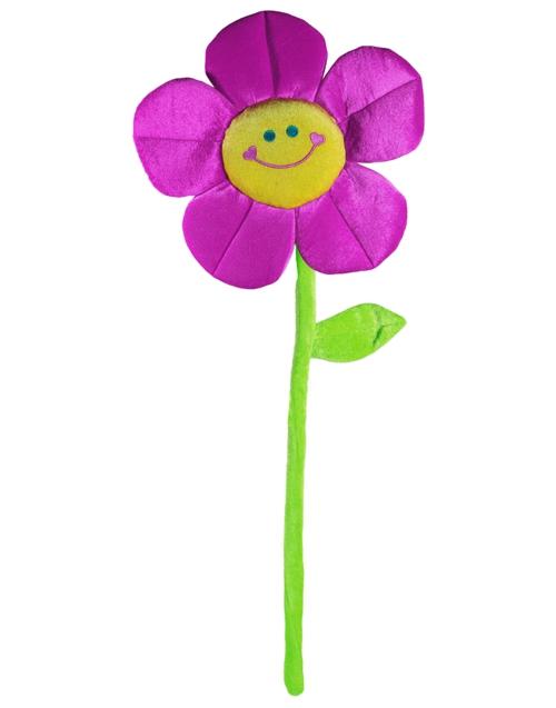 blume lila pl sch halter f r heliumgef llte luftballons. Black Bedroom Furniture Sets. Home Design Ideas