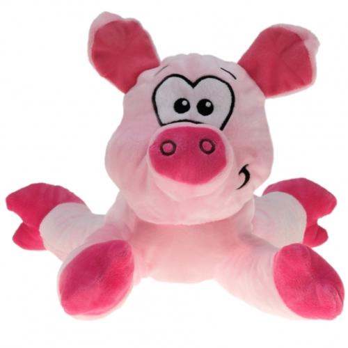 liegendes schweinchen pink pl schtier halter f r. Black Bedroom Furniture Sets. Home Design Ideas
