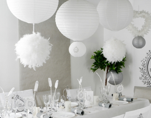 Lampions Just Married Partydekoration Hochzeit Ballonsupermarkt