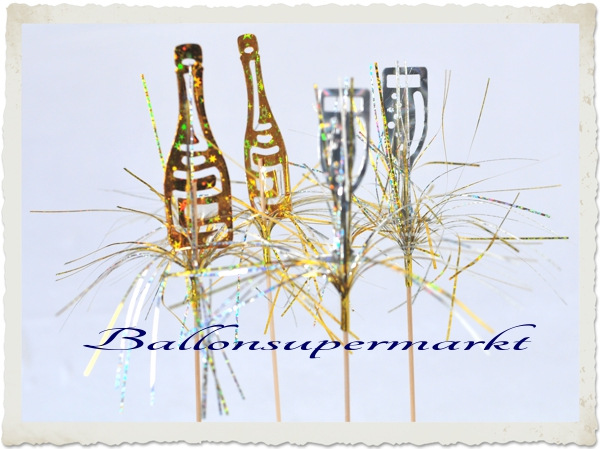 Party Deko Picker Sekt