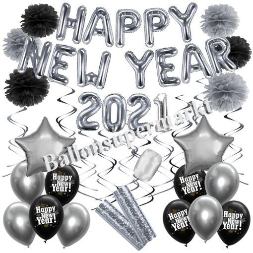 Ballons-Kinderluftballons-Silvester-Silvesterparty