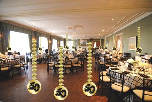Ballonsupermarkt dekorationsh nger gold for Goldene hochzeit dekoration