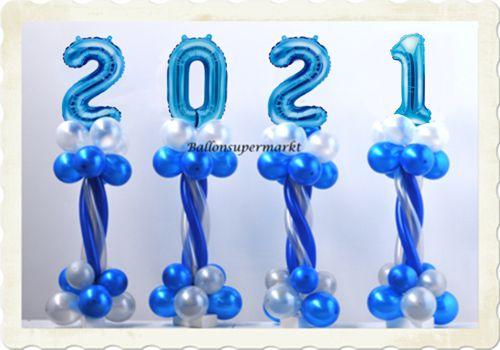 Partydekoration Silvester 2021