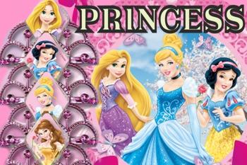 Disney-Princess-Prinzessinnen-Kindergeburtstag-Dekoration-und-Luftballons