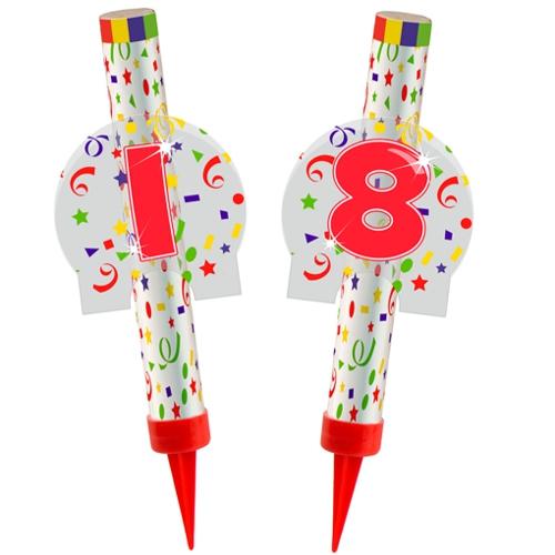 Ballonsupermarkt eisfont nen zahl 18 for Dekoration zum 18 geburtstag