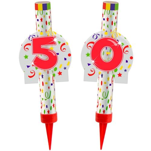 Ballonsupermarkt eisfont nen zahl 50 for Dekoration 50 geburtstag