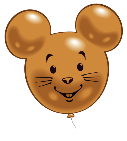 Figurenballon Maus