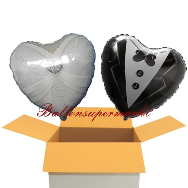 ballonsupermarkt braut folienballon herz. Black Bedroom Furniture Sets. Home Design Ideas