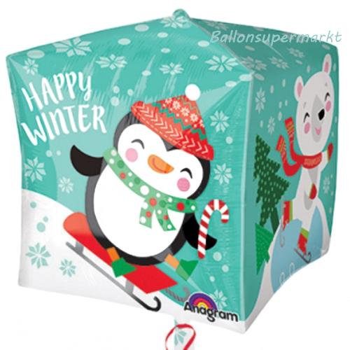 ballonsupermarkt happy winter cubez. Black Bedroom Furniture Sets. Home Design Ideas