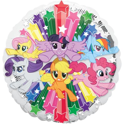 Folienballon-My-Little-Pony-Gruppe-Luftballon-Partydekoration-Geschenk-Geburtstag