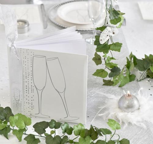 hochzeits g stebuch champagner festdekoration hochzeit ballonsupermarkt. Black Bedroom Furniture Sets. Home Design Ideas