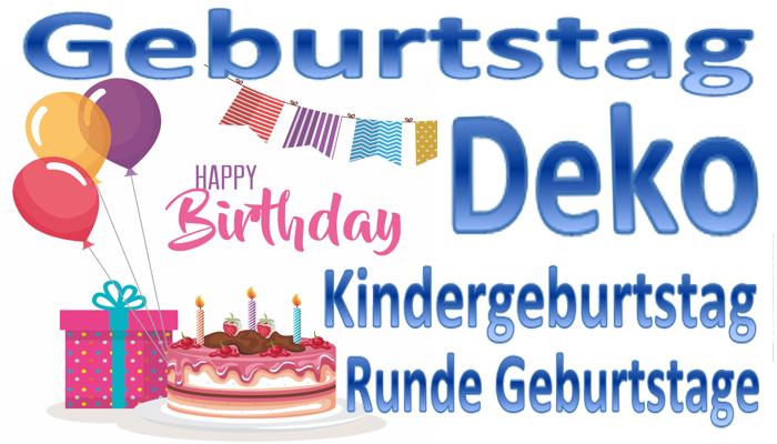 Geburtstag, Runde Geburtstage, Kindergeburtstag
