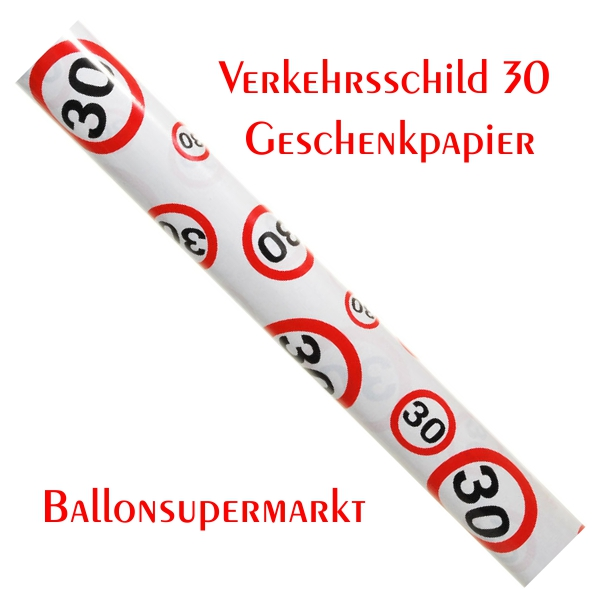 ballonsupermarkt geburtstag 30. Black Bedroom Furniture Sets. Home Design Ideas