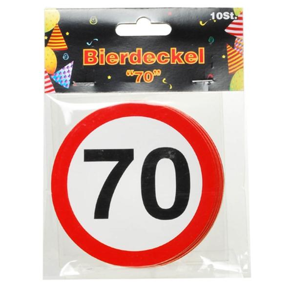 Ballonsupermarkt geburtstag 70 bierdeckel - Dekoration zum 70 geburtstag ...