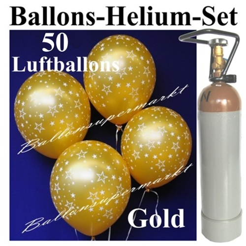ballonsupermarkt ballons helium set 50. Black Bedroom Furniture Sets. Home Design Ideas