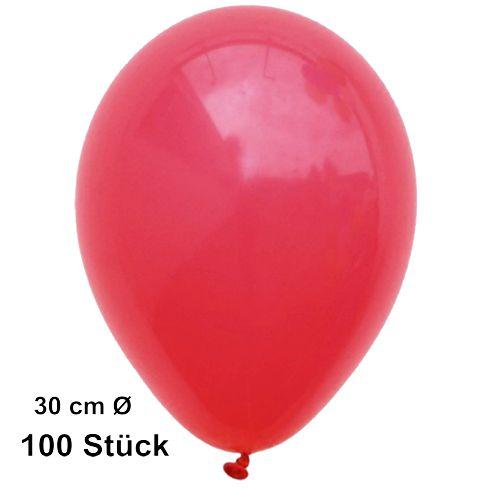 100   Luftballons Standardgröße 1A Ware Party Qualität aus Europa Ø 30 cm 50