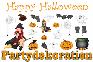Happy Halloween Partydekoration