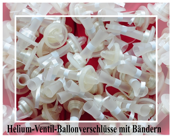 ballonsupermarkt helium ventile ballonverschl sse mit ballonb ndern 50 st ck. Black Bedroom Furniture Sets. Home Design Ideas