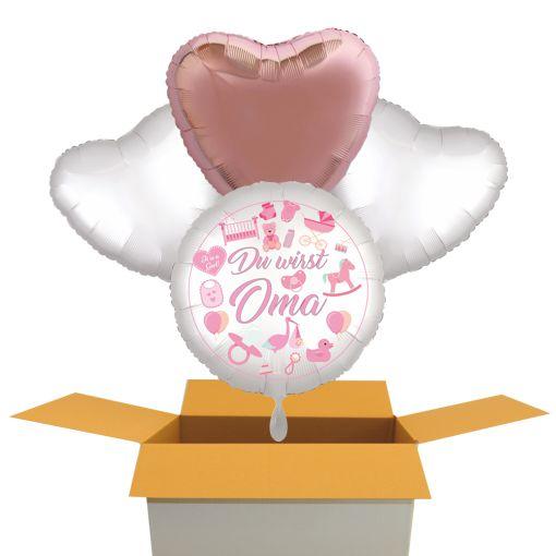 Du wirst Oma Luftballons Bouquet