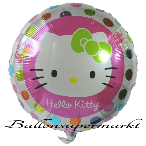 Hello Kitty Folienballon mit Helium