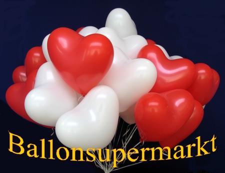 Herzluftballons-vom-Ballonsupermarkt-Rot-Weiss-mit-Helium-Ballongas