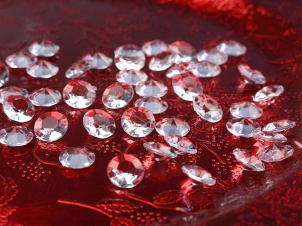 ballonsupermarkt konfetti tisch und streudekoration diamond konfetti kristallklar. Black Bedroom Furniture Sets. Home Design Ideas