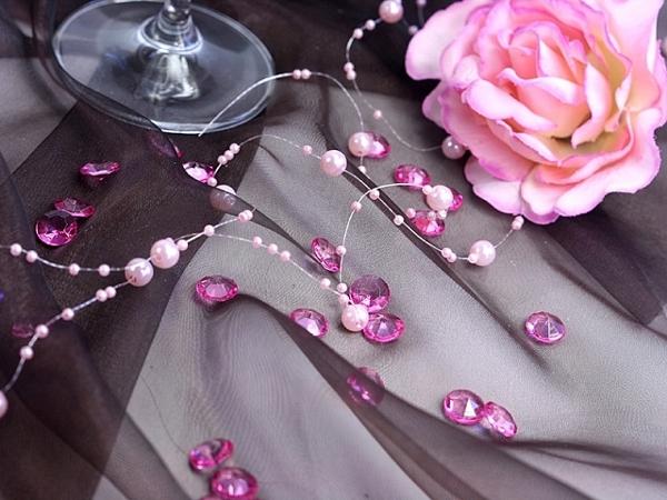 ballonsupermarkt konfetti tisch und streudekoration diamond konfetti rosa. Black Bedroom Furniture Sets. Home Design Ideas