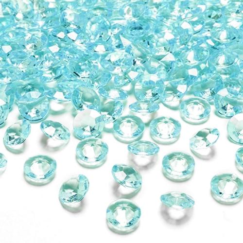 konfetti tisch und streudekoration diamond konfetti t rkis ballonsupermarkt. Black Bedroom Furniture Sets. Home Design Ideas