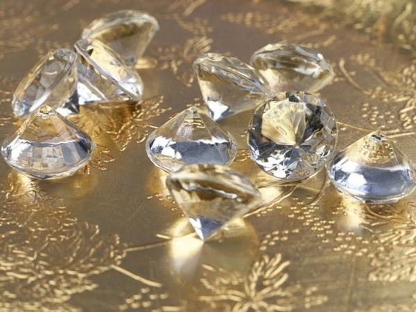 ballonsupermarkt konfetti xl tisch und streudekoration diamond konfetti. Black Bedroom Furniture Sets. Home Design Ideas