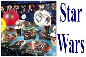 Krieg-der-Sterne-Star-Wars-Dekoration-und-Luftballons-Kindergeburtstag