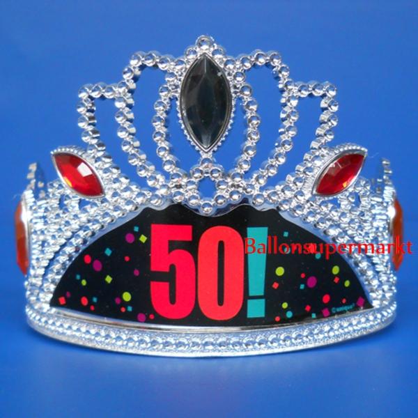 Ballonsupermarkt krone zum 50 geburtstag - Dekoration zum 50 geburtstag ...