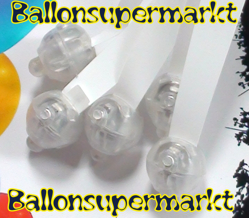 ballonsupermarkt led luftballons rosa 5 st ck led luftballons luftballons. Black Bedroom Furniture Sets. Home Design Ideas