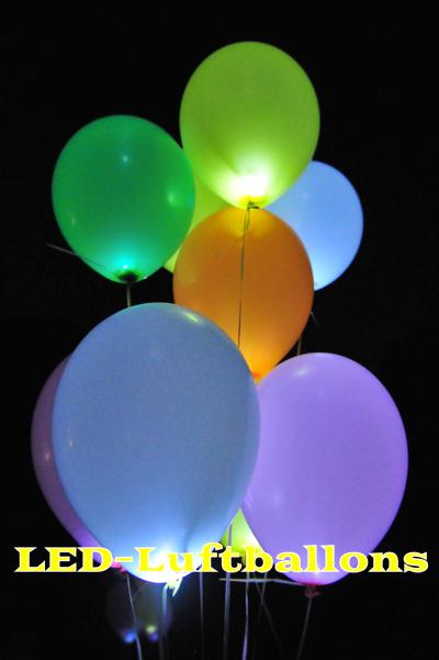 led luftballons wei 50 st ck led luftballons luftballons ballonsupermarkt. Black Bedroom Furniture Sets. Home Design Ideas