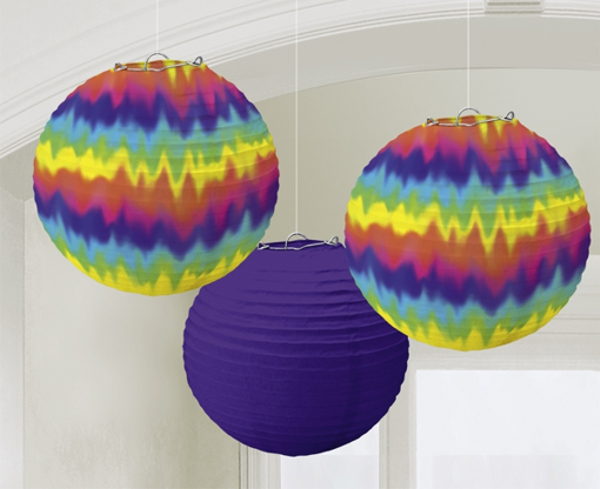 hippie party lampions partydekoration mottoparty hippie ballonsupermarkt. Black Bedroom Furniture Sets. Home Design Ideas