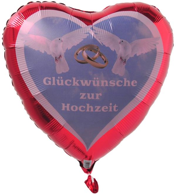 luftballon herz gl ckw nsche zur hochzeit folienballon inklusive helium ballonsupermarkt. Black Bedroom Furniture Sets. Home Design Ideas