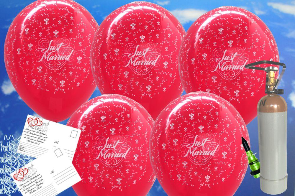 midi set luftballons zur hochzeit steigen lassen 25 hochzeitsluftballons in rubinrot just. Black Bedroom Furniture Sets. Home Design Ideas
