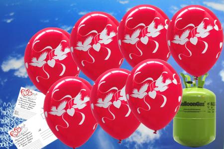 luftballons zur hochzeit steigen lassen 50. Black Bedroom Furniture Sets. Home Design Ideas