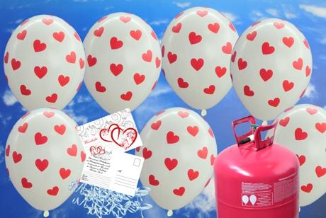 luftballons zur hochzeit steigen lassen mit dem helium einwegbeh lter ballons helium sets. Black Bedroom Furniture Sets. Home Design Ideas