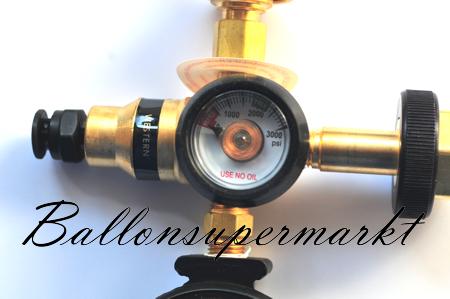 ballonsupermarkt duales ballongas helium auff llventil f r folienballons und. Black Bedroom Furniture Sets. Home Design Ideas